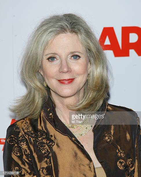 Blythe Danner during AARP The Magazine Toasts 2007 'Movies For Grownups Awards' Winners at Hotel BelAir in Los Angeles California United States