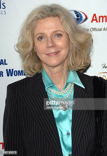 Blythe Danner during CitymealsOnWheels 20th Annual Power Lunch for Women at The Rainbow Room in New York City New York United States