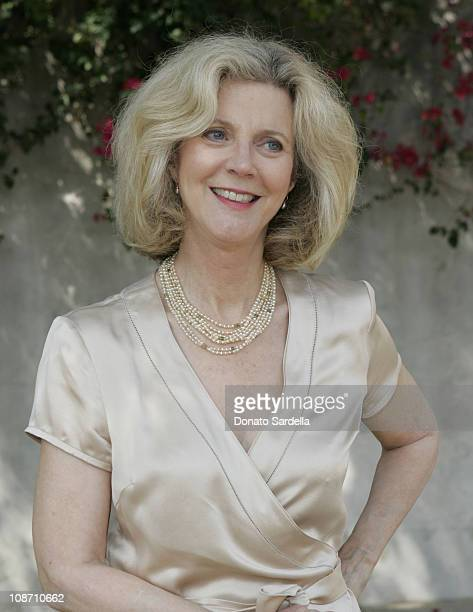 Blythe Danner during Rape Treatment Center Annual Benefit October 2 2005 at Private Residence in Beverly Hiils California United States