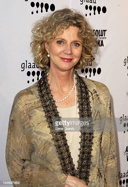 Blythe Danner during The 13th Annual GLAAD Media Awards Los Angeles Arrivals at Kodak Theatre in Hollywood California United States