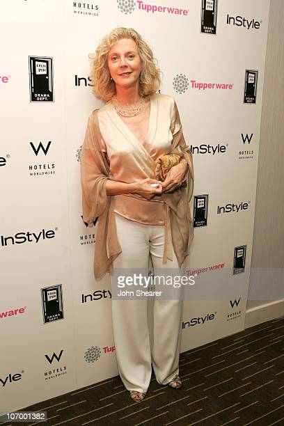 Blythe Danner during Tupperware and In Style Host a Party Benefiting the Drama Department Youth Ticket Fund at W Hotel in Westwood California United...