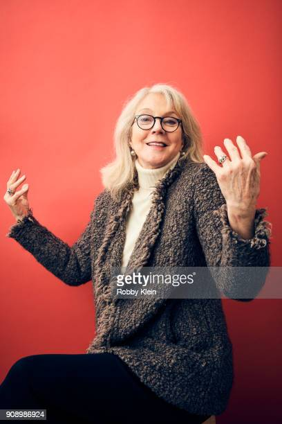 Blythe Danner from the film 'Halfway There' poses for a portrait at the YouTube x Getty Images Portrait Studio at 2018 Sundance Film Festival on...
