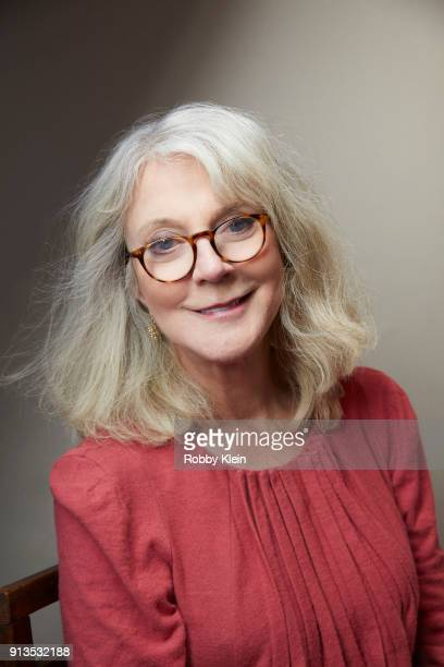 Blythe Danner from the film 'What They Had' poses for a portrait in the YouTube x Getty Images Portrait Studio at 2018 Sundance Film Festival on...