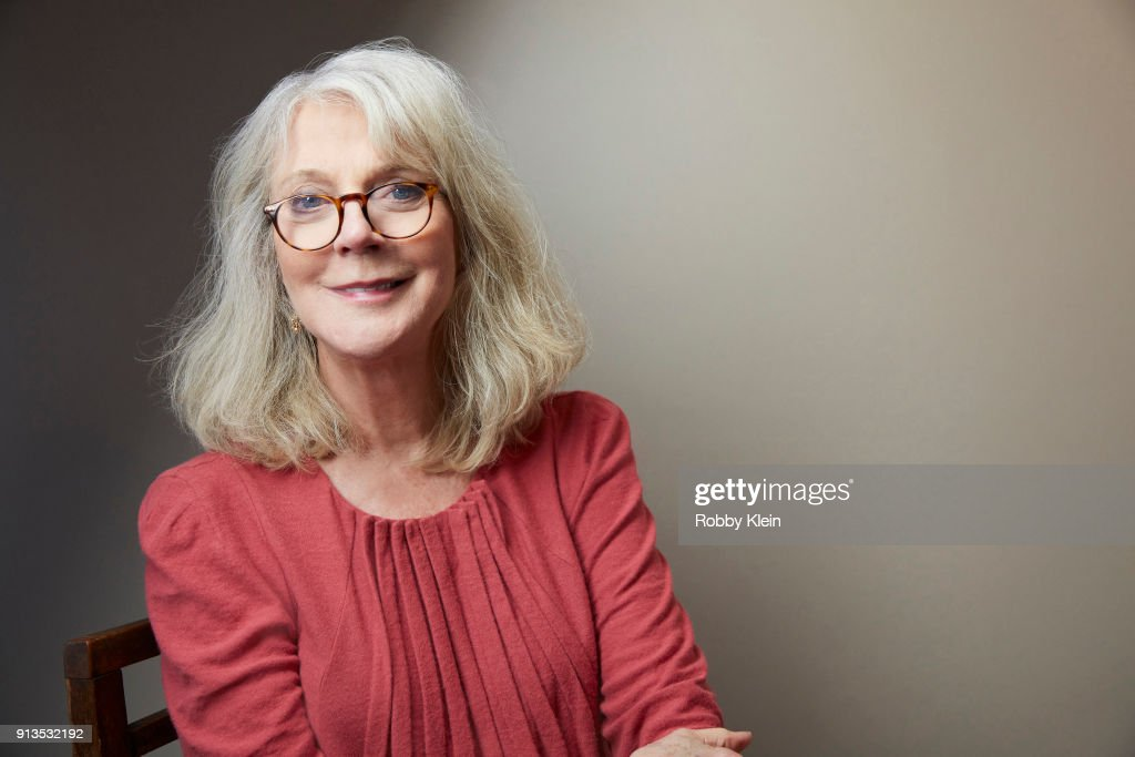 Blythe Danner from the film 'What They Had' poses for a portrait in the YouTube x Getty Images Portrait Studio at 2018 Sundance Film Festival on January 20, 2018 in Park City, Utah.