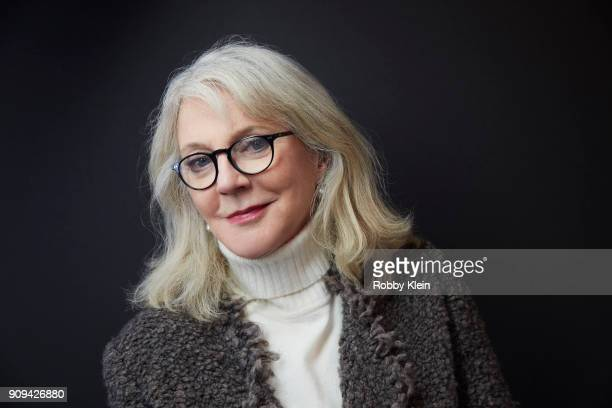 Blythe Danner from the series 'Halfway There' poses for a portrait at the YouTube x Getty Images Portrait Studio at 2018 Sundance Film Festival on...