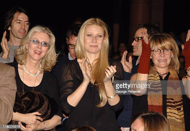 Blythe Danner Gwyneth Paltrow and Kate Capshaw during 2007 Sundance Film Festival 'The Good Night' Premiere QA at Eccles Theatre in Park City Utah...
