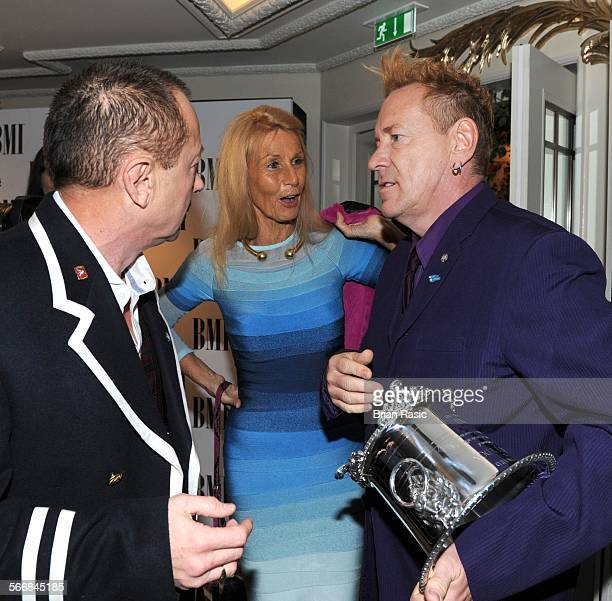 Bmi London Awards Britain 15 Oct 2013 Rambo Nora Forster And John Lydon Recipient Of Bmi Icon Award