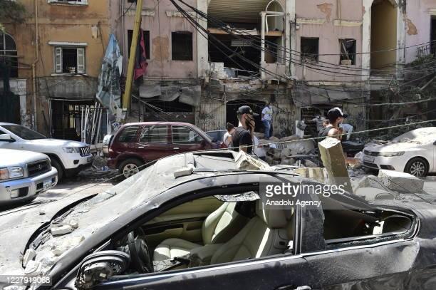 Bnan Kızılhaçı, baÅkent Beyrut'ta dün meydana gelen patlamada ölü sayısının 100'e, yaralı sayısının 4 bine yükseldiÄini duyurdu....