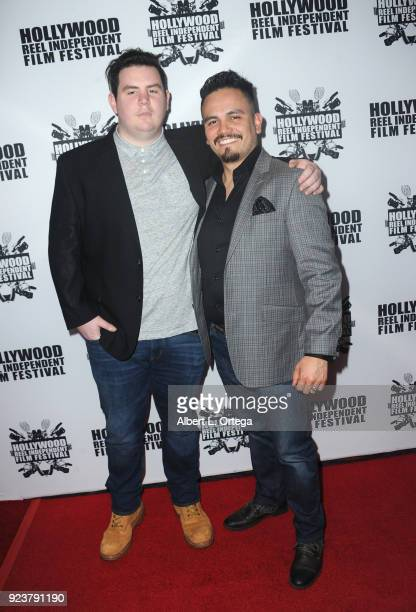Bo Bateman and Guillermo Orosco attend the 17th Annual Hollywood Reel Independent Film Festival Award Ceremony Red Carpet Event held at Regal Cinemas...