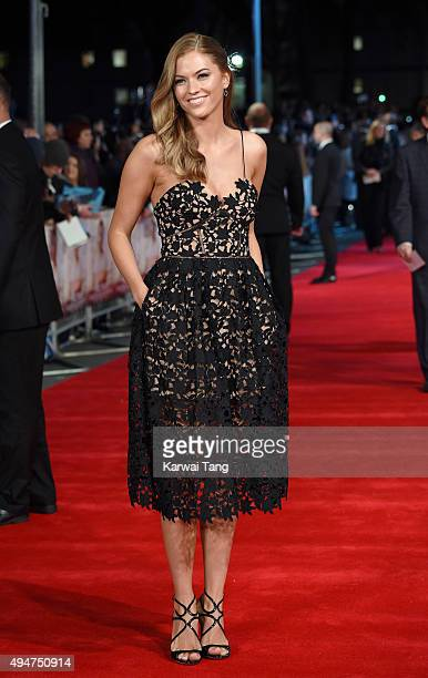 Bo Bene attends the UK Film Premiere of 'Burnt' at Vue West End on October 28, 2015 in London, England.