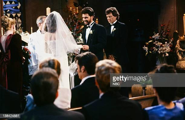 LIVES Bo Brady Carly Manning Kiriakis Wedding Pictured Crystal Chappell as Carly Manning Robert KelkerKelly as Bo Brady Wayne Northrop as Roman Brady