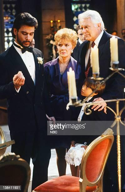 LIVES 'Bo Brady Carly Manning Kiriakis Wedding' Pictured Robert KelkerKelly as Bo Brady Peggy McCay as Caroline Brady Scott Groff as Shawn Douglas...