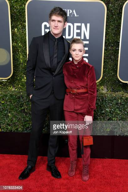 Bo Burnham and Elsie Fisher attend the 76th Annual Golden Globe Awards at The Beverly Hilton Hotel on January 6 2019 in Beverly Hills California