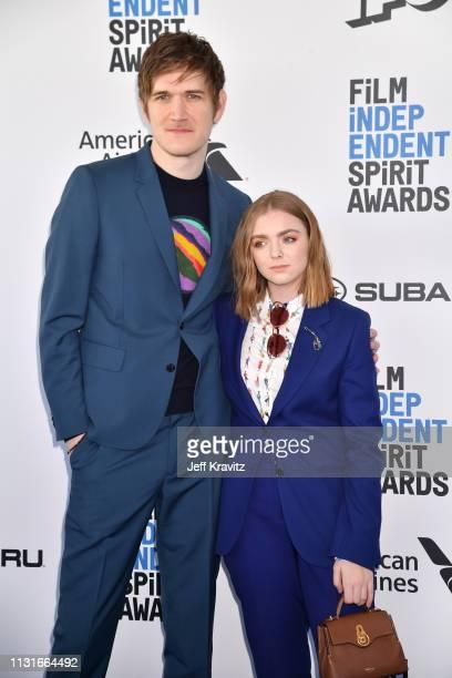 Bo Burnham and Elsie Fisher attends the 2019 Film Independent Spirit Awards on February 23 2019 in Santa Monica California
