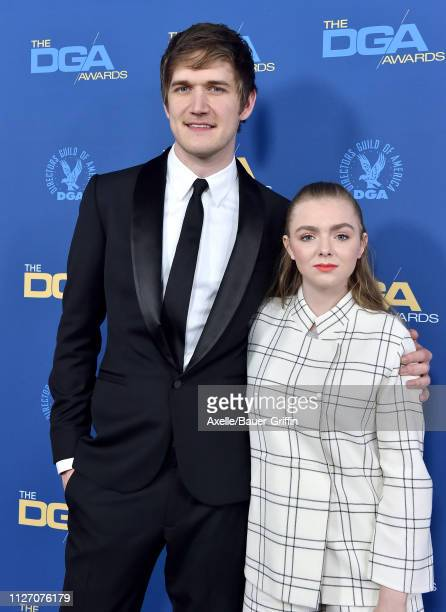 Bo Burnham and Elsie Fisher attends the 71st Annual Directors Guild of America Awards at The Ray Dolby Ballroom at Hollywood Highland Center on...
