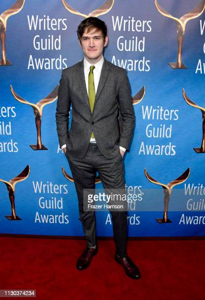 Bo Burnham attends the 2019 Writers Guild Awards LA Ceremony at The Beverly Hilton Hotel on February 17 2019 in Beverly Hills California