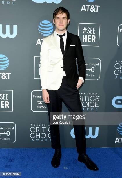 Bo Burnham attends the 24th annual Critics' Choice Awards at Barker Hangar on January 13 2019 in Santa Monica California