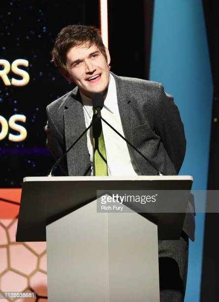 Bo Burnham winner of Original Screenplay speaks onstage during the 2019 Writers Guild Awards LA Ceremony at The Beverly Hilton Hotel on February 17...