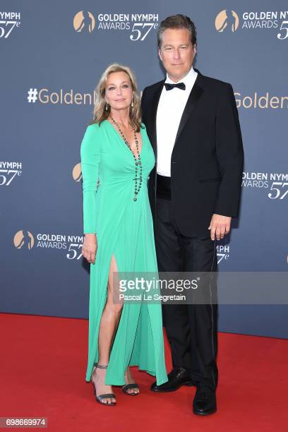 Bo Dereck and John Corbett attend the Closing ceremony of the 57th Monte Carlo TV Festival on June 20 2017 in MonteCarlo Monaco