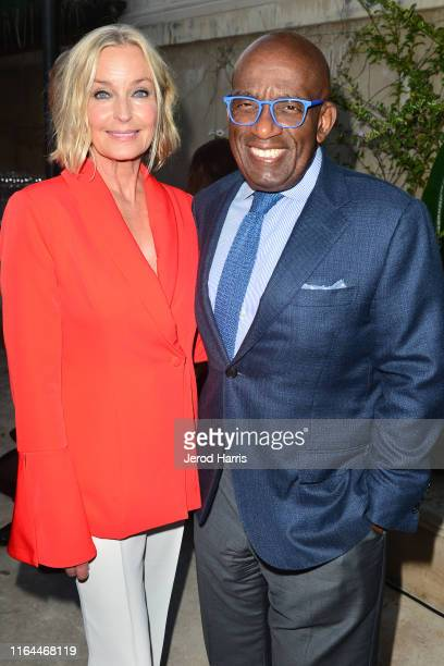 Bo Derek and Al Roker attend Hallmark Channel and Hallmark Movies Mysteries Summer 2019 TCA Press Tour Event Cocktail Reception at Private Residence...