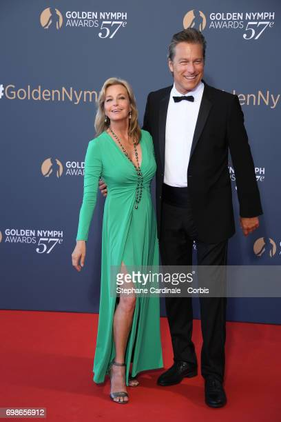 Bo Derek and John Corbett attend the 57th Monte Carlo TV Festival : Closing Ceremony on June 20, 2017 in Monte-Carlo, Monaco.