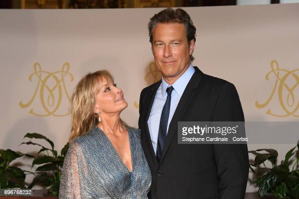 Bo Derek and John Corbett attend the After Party Opening Ceremony of the 57th Monte Carlo TV Festival at the Monte-Carlo Casino on June 16, 2017 in...