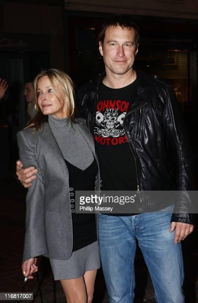 Bo Derek and John Corbett leave Lillie's Bordello on February 15 2008 in Dublin Ireland