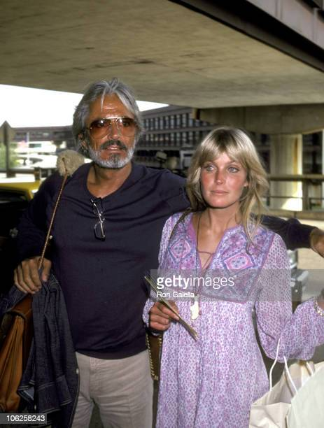 Bo Derek and John Derek during Bo Derek and John Derek Sighting at La Guardia Airport July 22 1981 at La Guardia Airport in New York City New York...