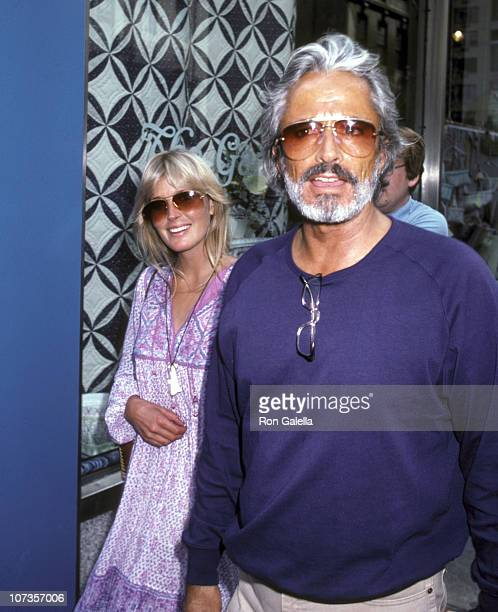 Bo Derek and John Derek during Bo Derek and John Derek Sighting Shopping at The Gazebo in New York City July 22 1981 at The Gazebo in New York City...