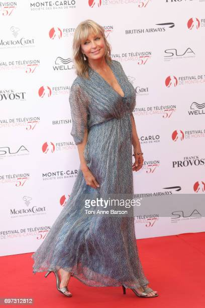 Bo Derek arrives at the Opening Ceremony of the 57th Monte Carlo TV Festival and World premier of Absentia Serie on June 16, 2017 in Monte-Carlo,...