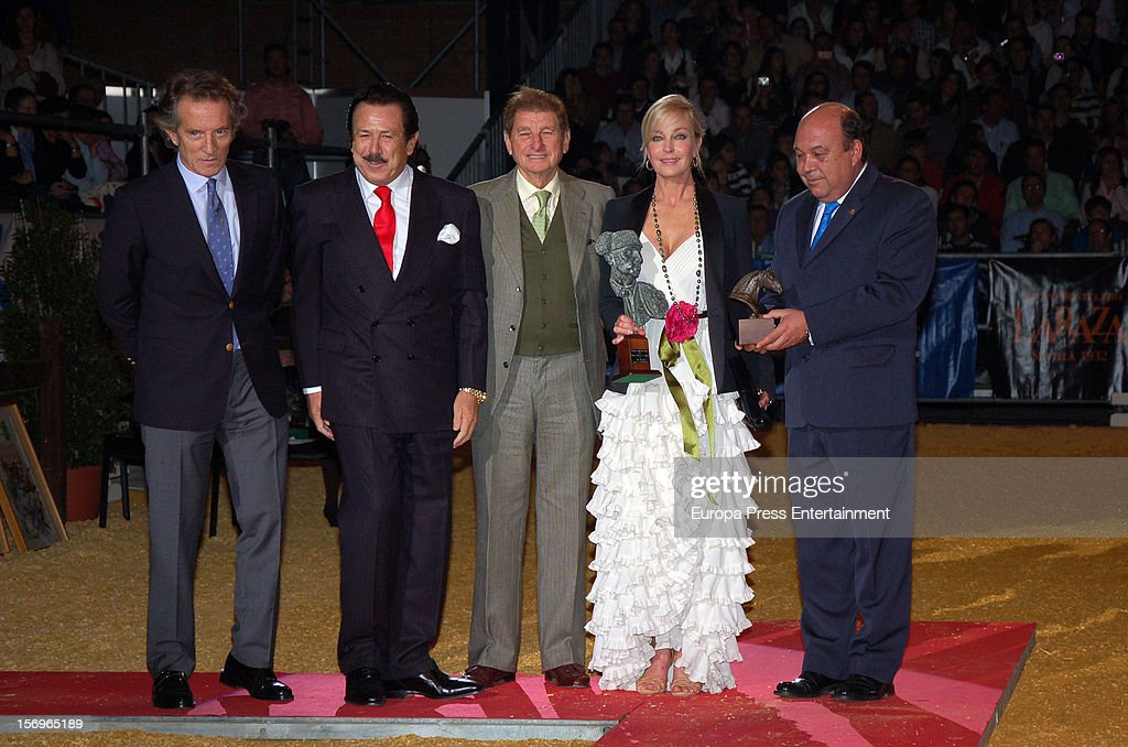 Bo Derek attends SICAB 2012, the International Horse Fair of Spain, on November 24, 2012 in Seville, Spain.