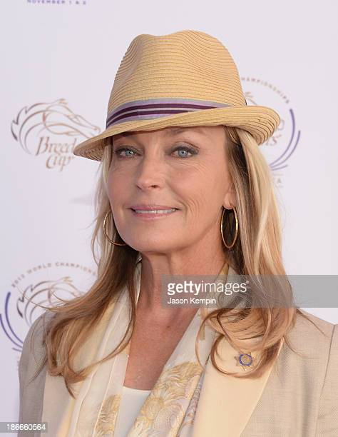 "Bo Derek attends the 30th Annual Breeders' Cup ""Songs In The Saddle: The Infield Music Fest"" at Santa Anita Park on November 2, 2013 in Arcadia,..."