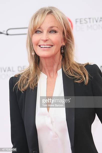 Bo Derek attends the 55th Monte Carlo TV Festival Opening Ceremony at the Grimaldi Forum on June 13, 2015 in Monte-Carlo, Monaco.