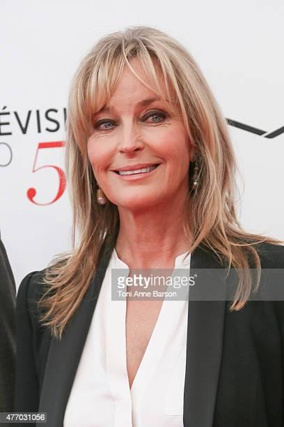 Bo Derek attends the 55th Monte Carlo TV Festival Opening Ceremony at the Grimaldi Forum on June 13 2015 in MonteCarlo Monaco