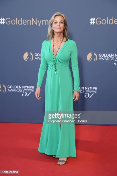 Bo Derek attends the 57th Monte Carlo TV Festival : Closing Ceremony on June 20, 2017 in Monte-Carlo, Monaco.