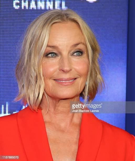 Bo Derek attends the Hallmark Channel and Hallmark Movies Mysteries Summer 2019 TCA Press Tour Event held at a private residence on July 26 2019 in...
