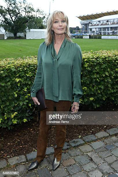 Bo Derek attends the media night of the CHIO 2016 on July 12 2016 in Aachen Germany