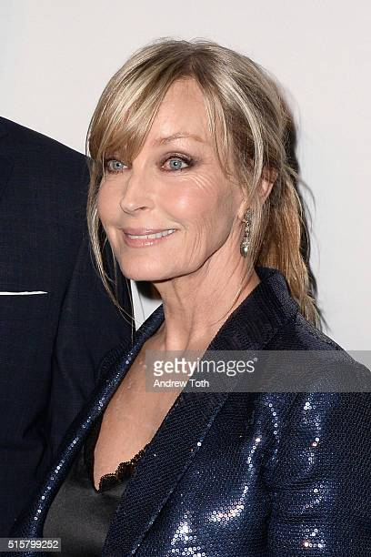 Bo Derek attends the My Big Fat Greek Wedding 2 New York premiere at AMC Loews Lincoln Square 13 theater on March 15 2016 in New York City