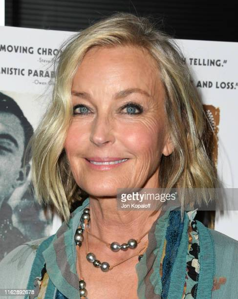 "Bo Derek attends the Premiere Of Sony Pictures Classic's ""David Crosby: Remember My Name"" at Linwood Dunn Theater on July 18, 2019 in Los Angeles,..."