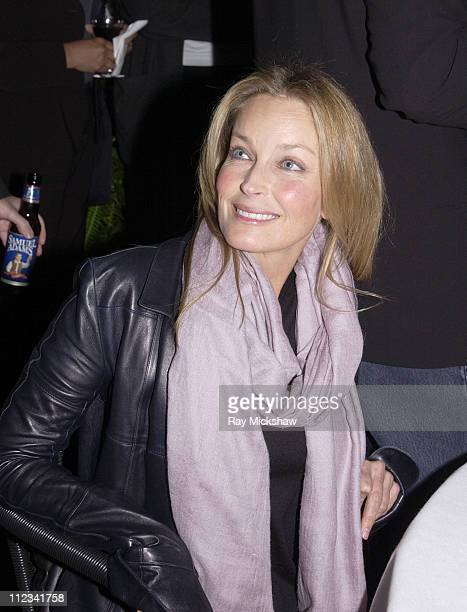 Bo Derek during 2002 Modern Master Award to Sean Penn in Santa Barbara, California, United States.