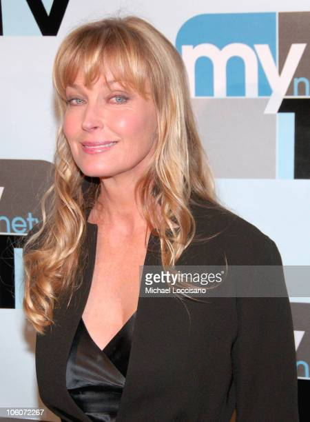 Bo Derek during 2006 MyNetworkTV UpFront at Hilton Theatre in New York City New York United States