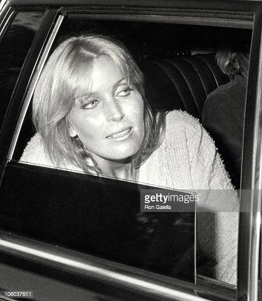Bo Derek during Bo Derek at a Taping of The Tonight Show with Johnny Carson at NBC TV Studios in Burbank California United States