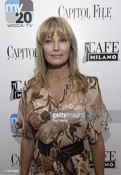 Bo Derek during Capitol File Magazine and Fox Celebrate the Launch of MyTv at Cafe Milano in Washington DC United States