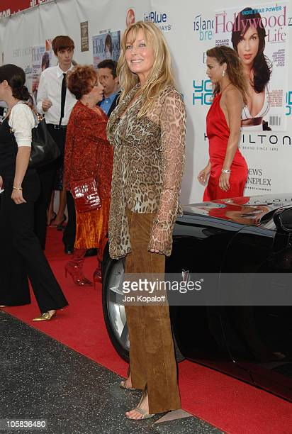 Bo Derek during Movieline's Hollywood Life 7th Annual Young Hollywood Awards Arrivals at Music Box at The Fonda in Hollywood California United States
