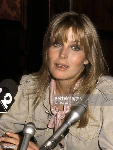 Bo Derek during Press Conference for A Change of Season February 7 1980 at Beverly Wilshire Hotel in Beverly Hills California United States