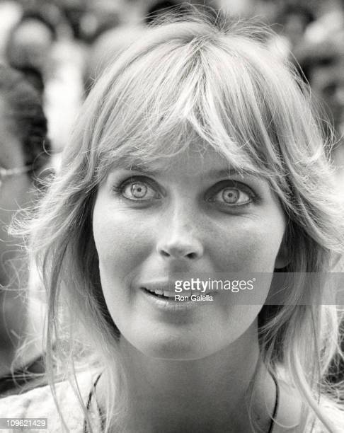 Bo Derek during Protest Against Judge Henry Walker's Film Edit Verdict July 22 1981 at Foley Square in New York City New York United States