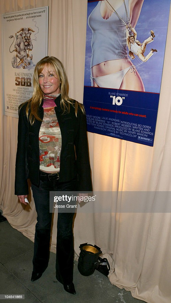 Bo Derek during Reception for Blake Edwards, Honorary Academy Award Recipient - February 26, 2004 at The Annex, Hollywood & Highland in Hollywood, California, United States.