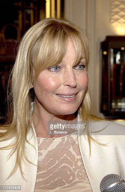 Bo Derek during Susan G Koman Cocktail Dinner Benefit August 30 2004 at Bergdorf Goodman in New York City New York United States