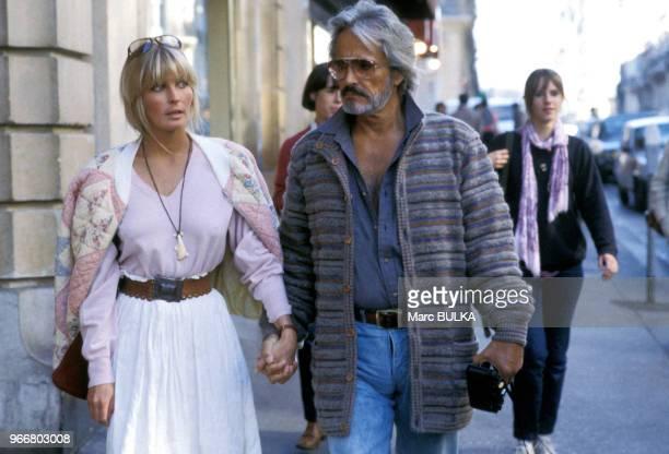 Bo Derek et son mari John Derek à Paris le 29 septembre 1981, France.