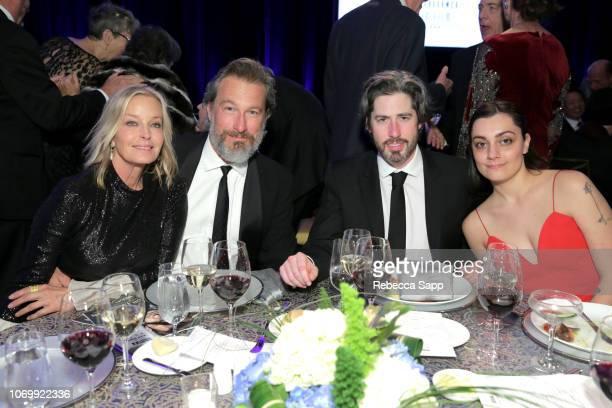Bo Derek, John Corbett, Jason Reitman and Liana Maeby attend Santa Barbara International Film Festival's Kirk Douglas Award Honoring Hugh Jackman at...